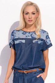 Женская роскошная блуза Halie 025