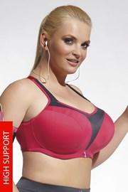 Sportovní podprsenka Heidi Pink