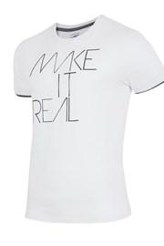 Pánské značkové tričko 4F TSM008 White
