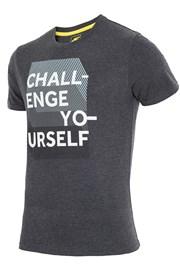 Pánské značkové tričko 4F TSM016 Grey