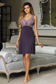 Elegantní košilka Larisa Plum