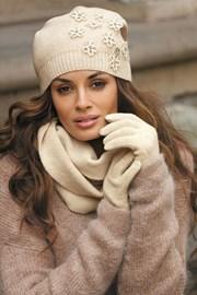 Dámske rukavice Marianella Beige