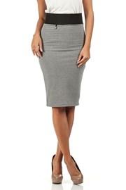 Dámská sukně s vyšším pasem Moe062