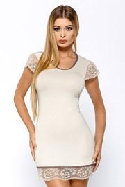 Elegantní košilka Roxy Ecru