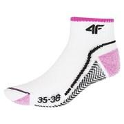 Dámské sportovní ponožky White