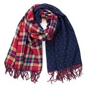 Dámský šátek oboustranný Red