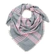 Dámský kostkovaný šátek Pinky