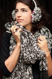 Pletená šála Laura