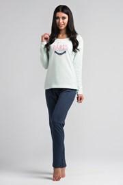 Женская хлопковая пижама Paris mint