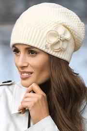 Женская шапка Sawana Ecru