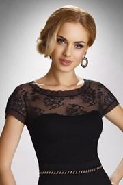 Женская элегантная кружевная футболка Zefira