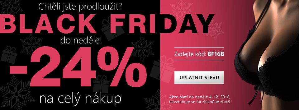 Black Friday 24 %