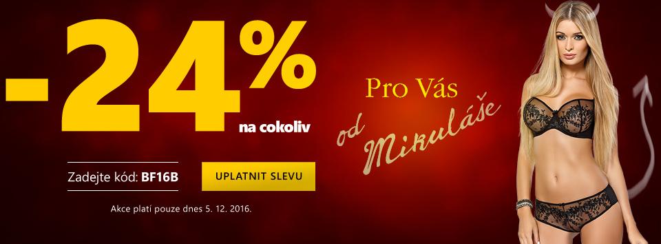 Mikuláš 24 %