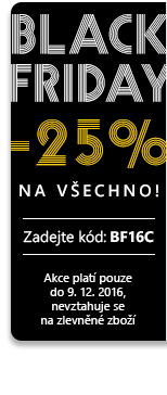 Black Friday až -25 %
