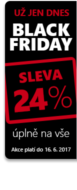 Black Friday 24 %!