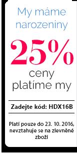 Sleva 25 %.