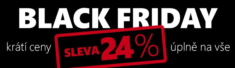 Black Friday je tu a s ním 30 % na vše!