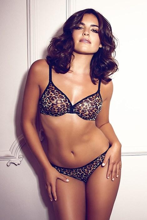 Kalhotky Gossard Glossies Leopard