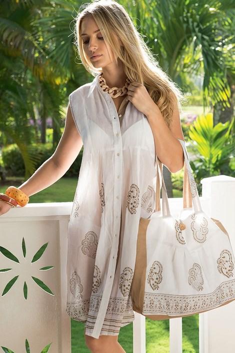 Luxusní italské propínací šaty z kolekce Iconique 621KC