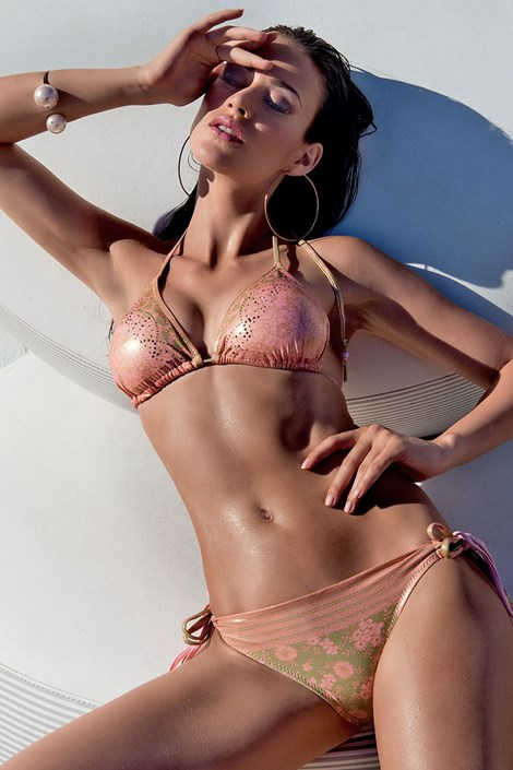 Dámské luxusní dvoudílné plavky Anzia