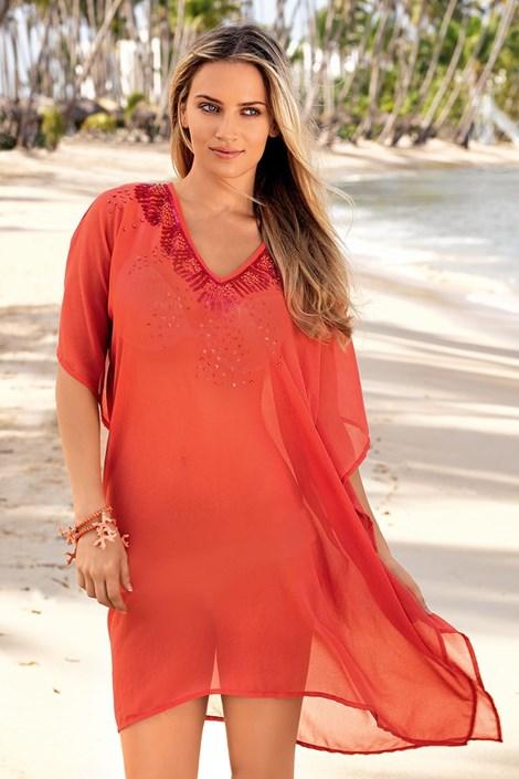 Luxusní italské plážové šaty z kolekce Iconique 642 KW