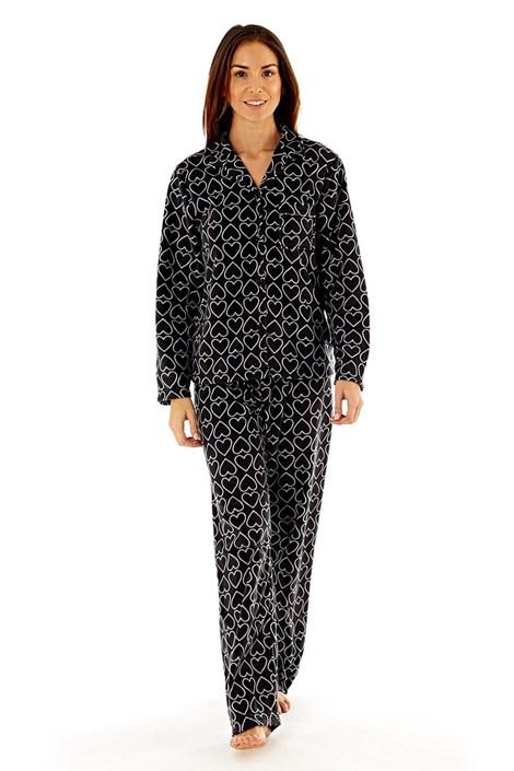 Dámské fleecové pyžamo Jennifer Black