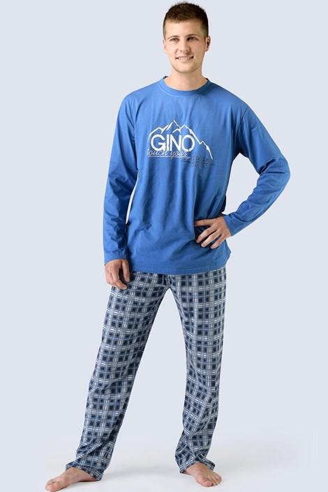 Pánské pyžamo Gino dlouhé