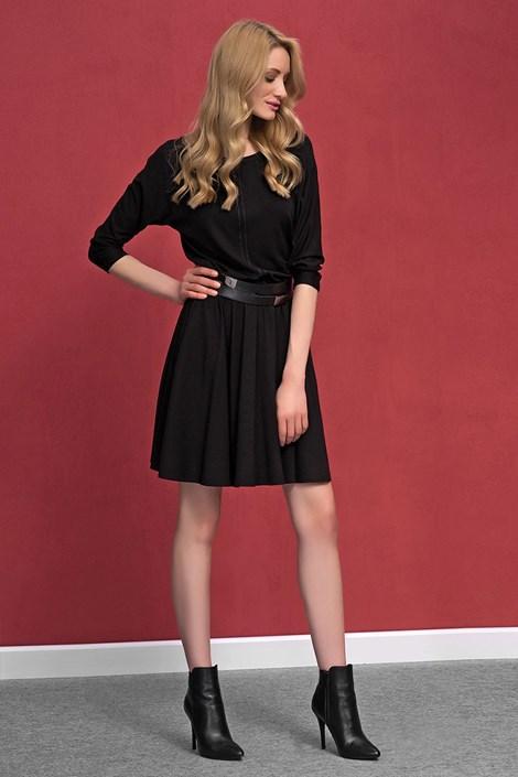Dámské romantické úpletové šaty Altea Black