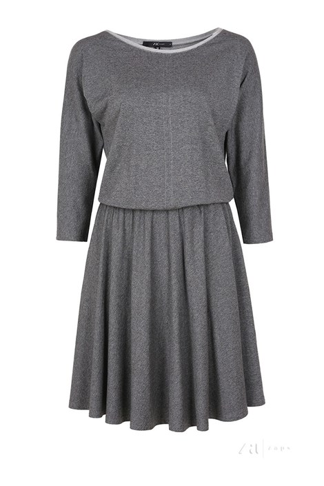 Elegantní dámské úpletové šaty Altea Grey