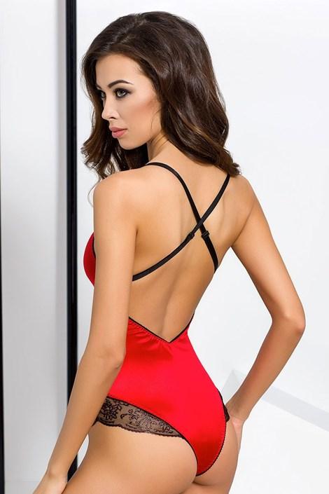 Elegantní body Brida Red