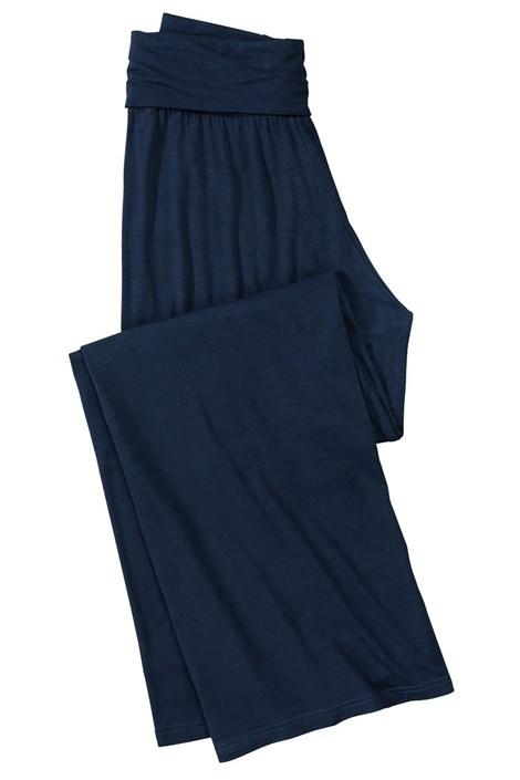 Dámské pohodlné kalhoty z viskózy