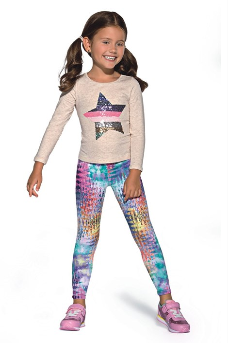 Dětské barevné legíny Dixi
