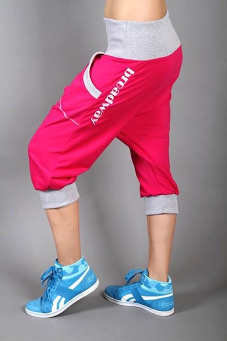Sportovní kalhoty Electric magenta