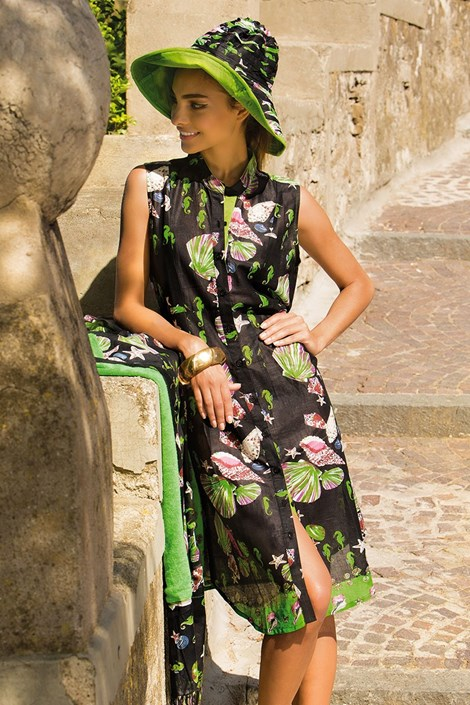 Dámské letní košilové šaty Giorgia bavlněné z kolekce Iconique