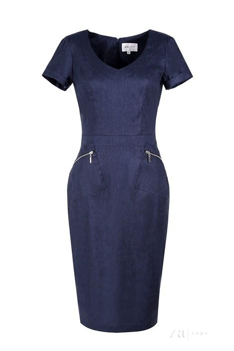 Dámské luxusní lněné šaty Karissa 28