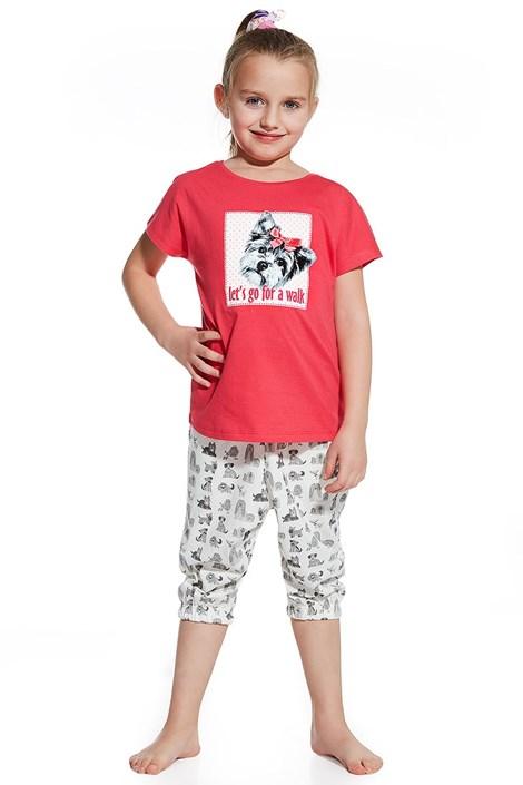 Dívčí pyžamko Let´s go for walk