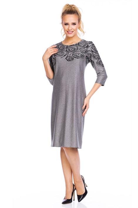 Dámské šaty Livia Grey se vzorem