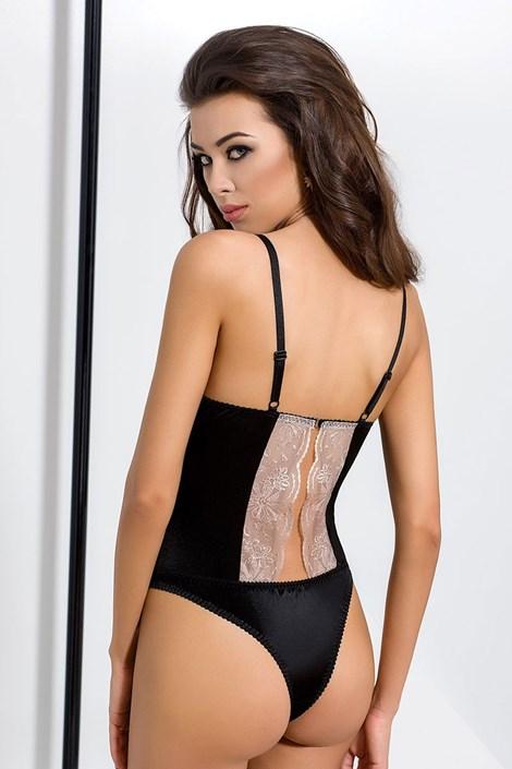 Elegantní body Lotus Black