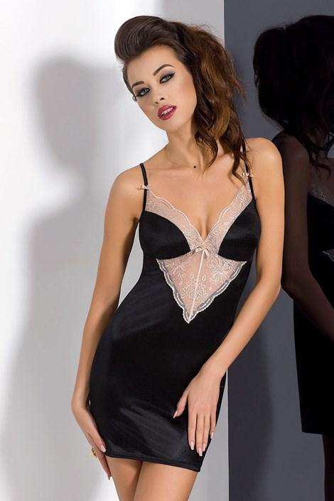 Elegantní košilka Lotus Black