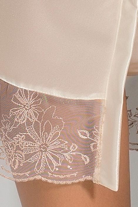Elegantní župánek Lotus Cream