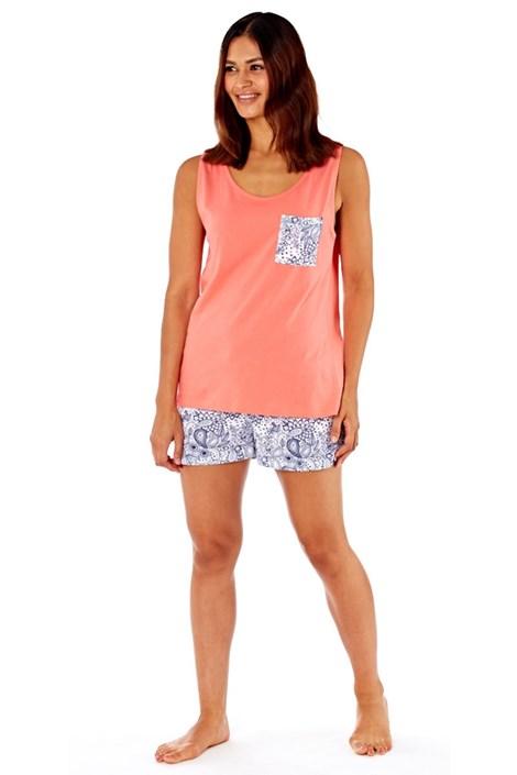 Dámské bavlněné pyžamo Paisley