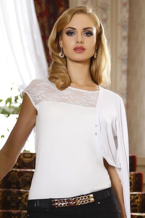 Dámské elegantní krajkové tričko Paulina