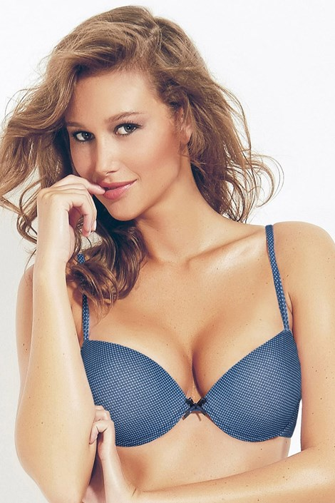 Podprsenka Push-Up Perla Blue