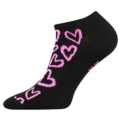 3pack ponožek Piki Mix 40 černé