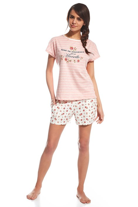 Dámské pyžamo Provence růžové