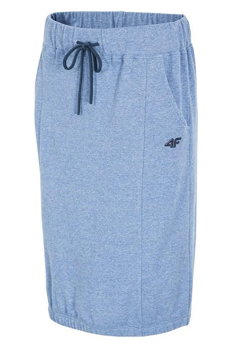 Dámská sportovní sukně 4f Blue melange