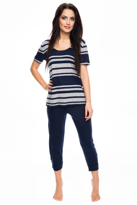 Dámské pyžamo Blue stripes
