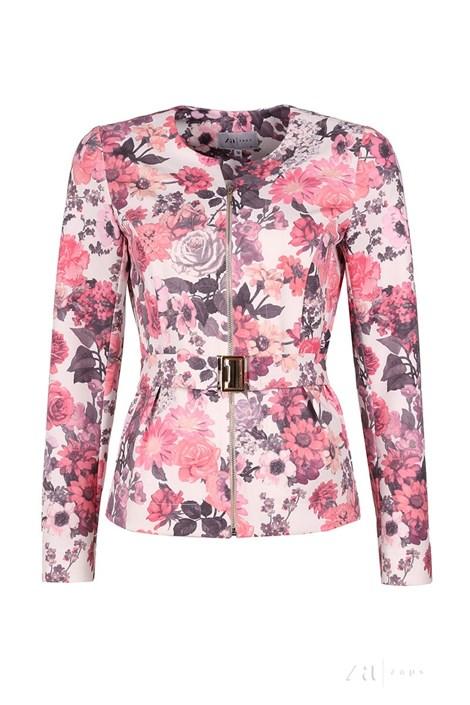 Dámský luxusní kabátek Svieta White