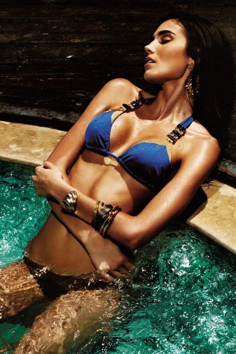 Dámské luxusní dvoudílné plavky Star