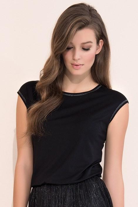 Dámské elegantní triko Vivian Black